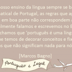 Português é difícil?