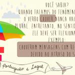 Seis dicas sobre nossa língua (parte VI)